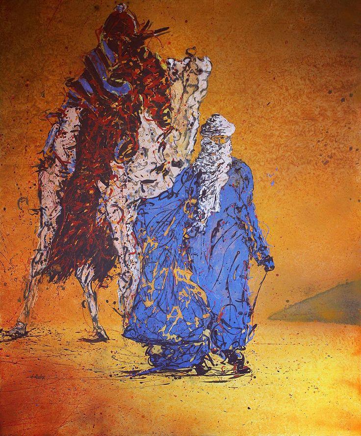"""Bedouin (2013)""   #artwork #fineart #draw #drawing #artdrawing #artofdrawing #resim #ressam #serdarabay #serdar_abay  #portrait #portraitart #portre #figure #arabb #desert #bedouin"