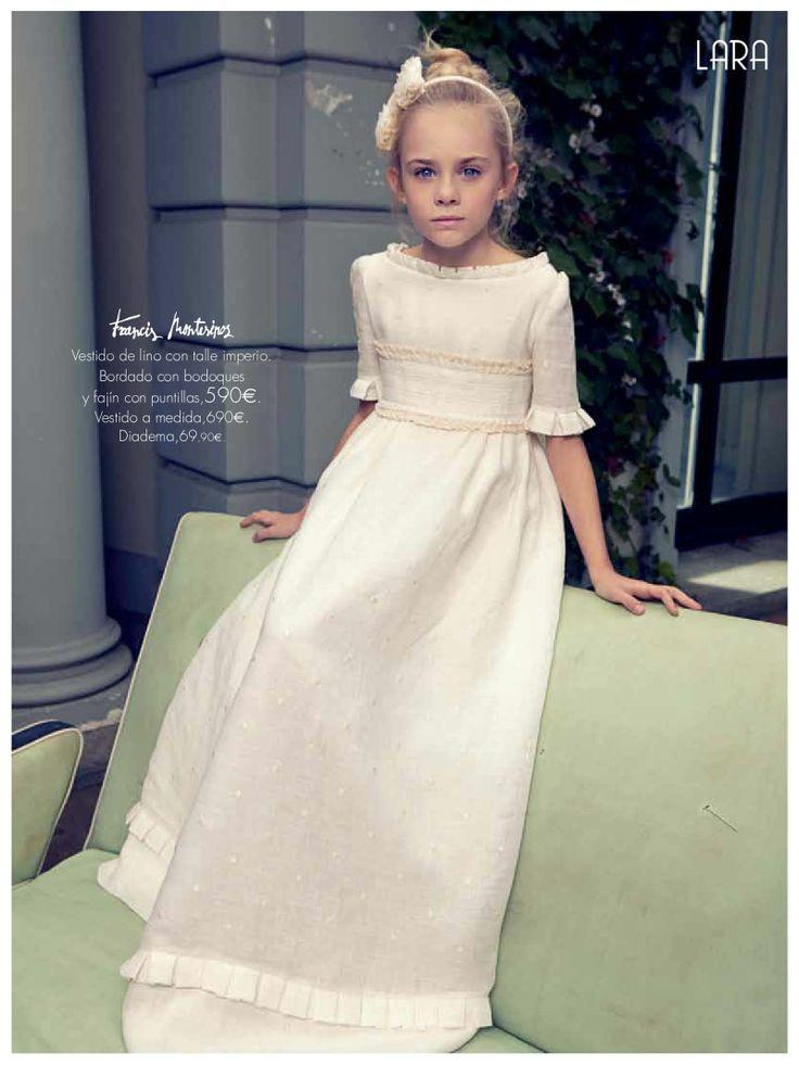 Vestido blanco anuncio corte ingles