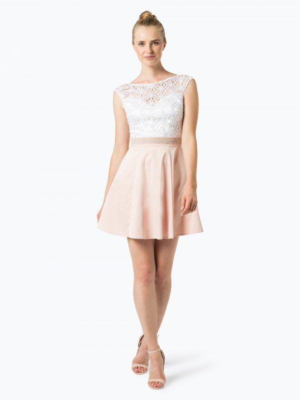 4579658a41 Lipsy sukienka koktajlowa różowa biała - Sukienki na wesele    Sukienki  wieczorowe koktajlowe. Znajdź