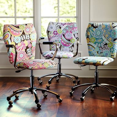Paisley Office Chairs!