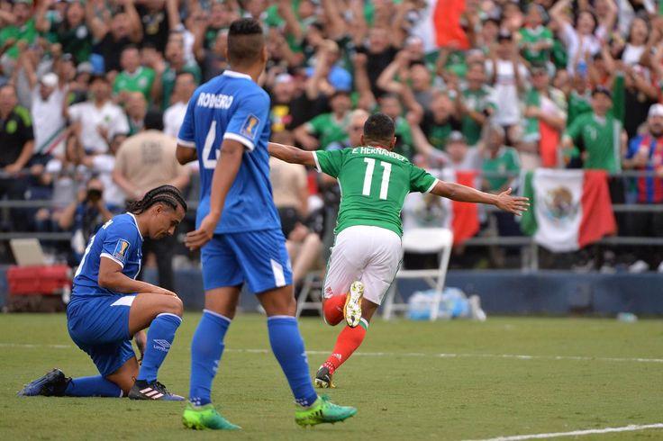 México vs El Salvador: marcador Final de 3-1, El Tri inicia el año 2017 la Copa de Oro de fuerte
