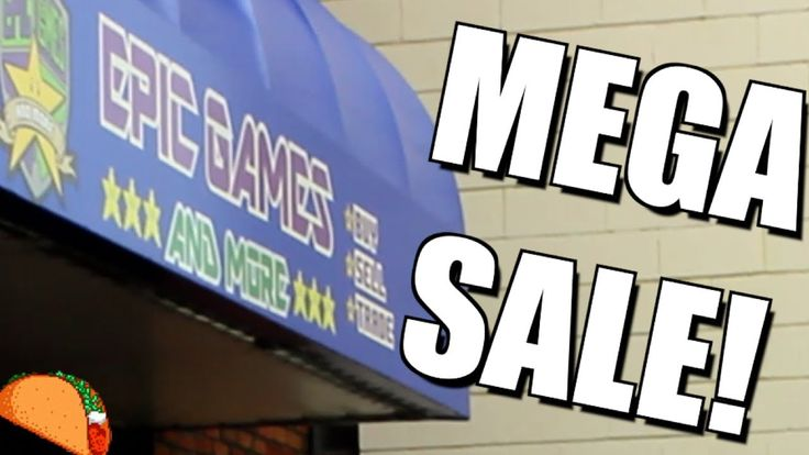 Epic Games Blowout Table: An Insane Gaming MEGA SALE!