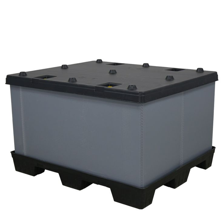 Check out the deal on 40 x 48 x 30 Plastic Pallet Pack Container at RPP Containers