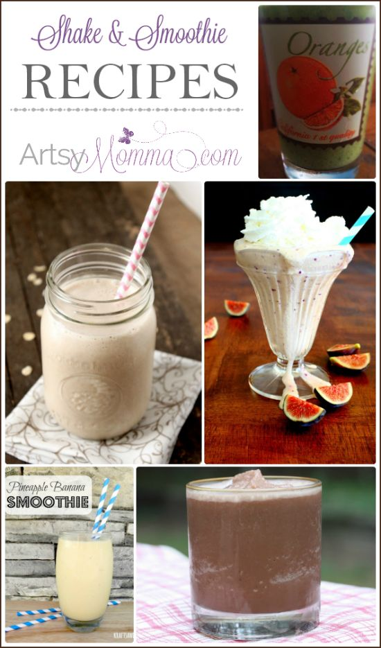 Shake and Smoothie Recipes #BewitchinProjects