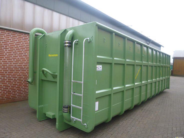 Güllesysteme auf Hakenlift, Güllecontainer 66m³, auch in anderen Größen lieferbar.