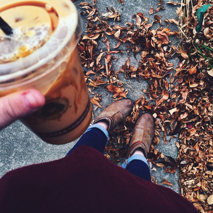 """wandurlusting: """" Life is better with coffee in the fall """""""