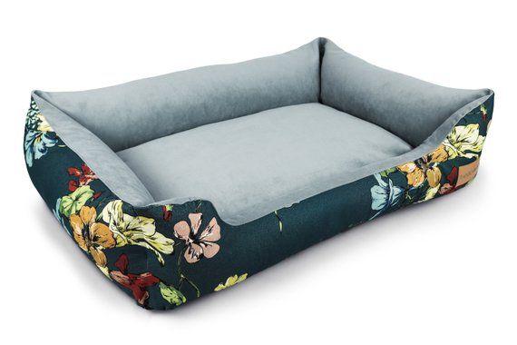 Botanical Garden Dog Bed Etsy Dog Bed Dog Bed Luxury Dog Sofa