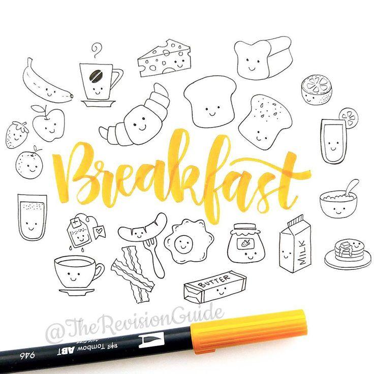 Colorea:desayuno
