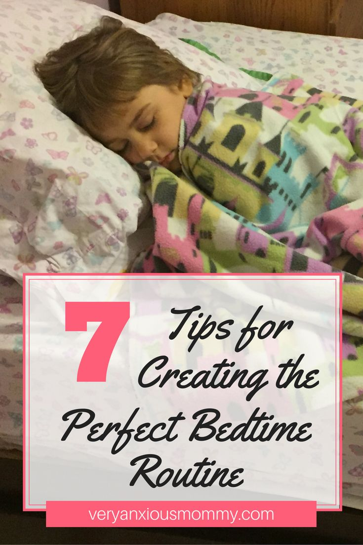 7 TIPS FOR CREATING THE PERFECT BEDTIME ROUTINE Establishing a bedtime routine is one of the most important steps of teaching your child good sleeping habits. Children thrive on consistency. And a set routine for going to bed is essential to them. When you have a successful bedtime routine in place, your children have time to prepare for sleep.