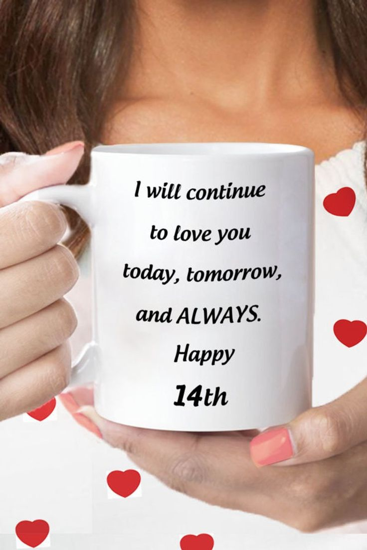 Anniversary gift 14th for wife 14 years jubilee gift for