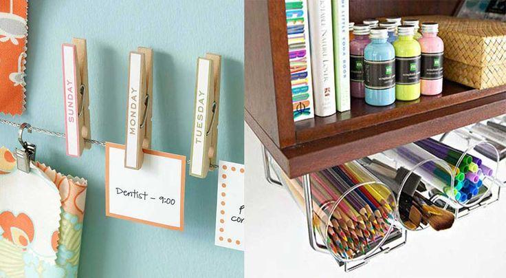 11 trucos que debes usar para organizar tu oficina y hacerla un lugar más entretenido