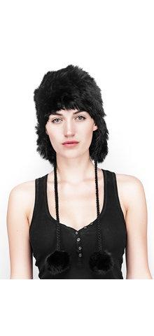 @Rudsak #RUDSAK@SUNDANCE #winter Haviva - Rabbit fur tuque.