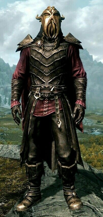 High Chancellor By Teccam Royal Vampire Armor Vampire Boots And