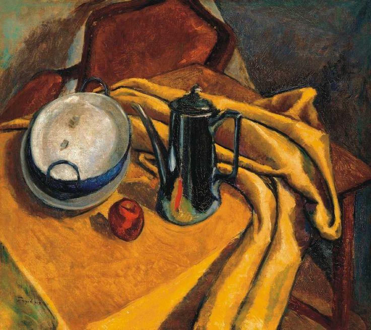 TIHANYI Lajos: Still-life, 1909