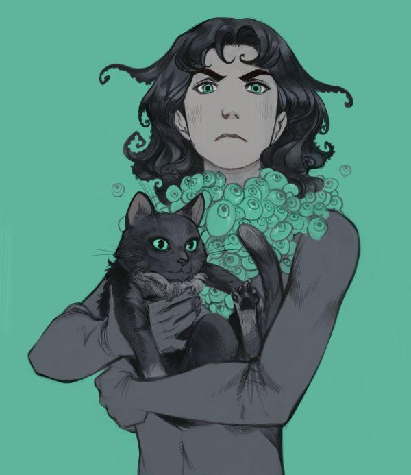 Demon Kitties by Phobs.deviantart.com on @DeviantArt