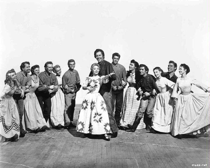 Seven Brides for Seven Brothers- this movie is amazing and who ever doesn't like it needs to go see if there is something wrong with there head!