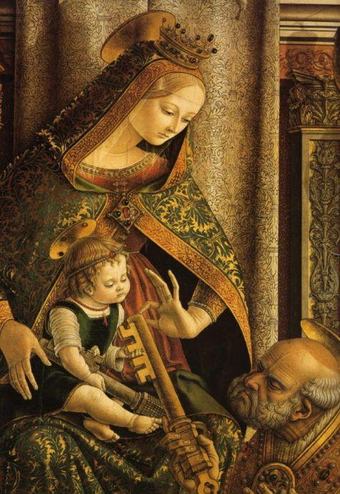 Carlo Crivelli : La Vierge à l'enfant