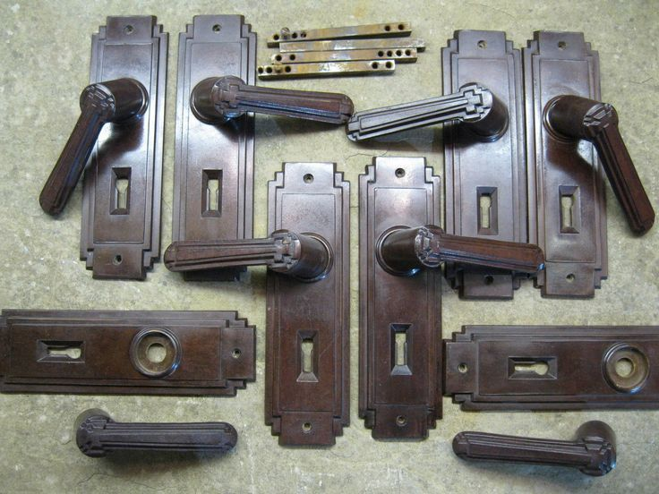 17 best images about art deco door hardware on pinterest for 1930s interior door handles