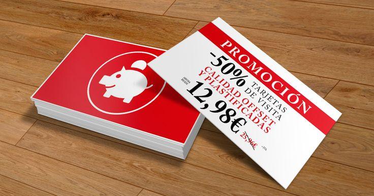 Aprovechando la última semana de rebajas hemos preparado una promoción de las de tirar la casa por la ventana.  Sólo hasta el domingo 01/03/2015, todas tus tarjetas de visita ¡¡¡con un 50% dto!!! www.optimprint.com #lacasaporlaventana #rebajas #imprentaonline