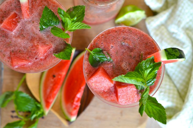Watermelon Mocktail... Cheers! - Lifestyle - Food - GLAMOUR Nederland