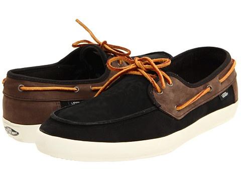 Vans boat shoe.