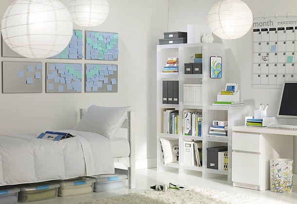 A Clean Dorm is a Happy Dorm: Colleges Life, Dormrooms, Dreams Dorm, College Dorm, Sticky Note, Dorm Ideas, Rooms Ideas, Dorm Rooms, Rooms Decor