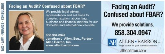 San Diego Tax Attorneys – Business Legal #child #support #attorneys http://attorney.remmont.com/san-diego-tax-attorneys-business-legal-child-support-attorneys/  #tax attorney san diego San Diego Tax Attorneys And Accountants California Tax and IRS Attorneys Allen Barron, Inc. provides holistic tax, accounting, business, financial and management advisory services to individuals and businesses located throughout Southern California and around the world. Janathan L. Allen, APC provides legal…