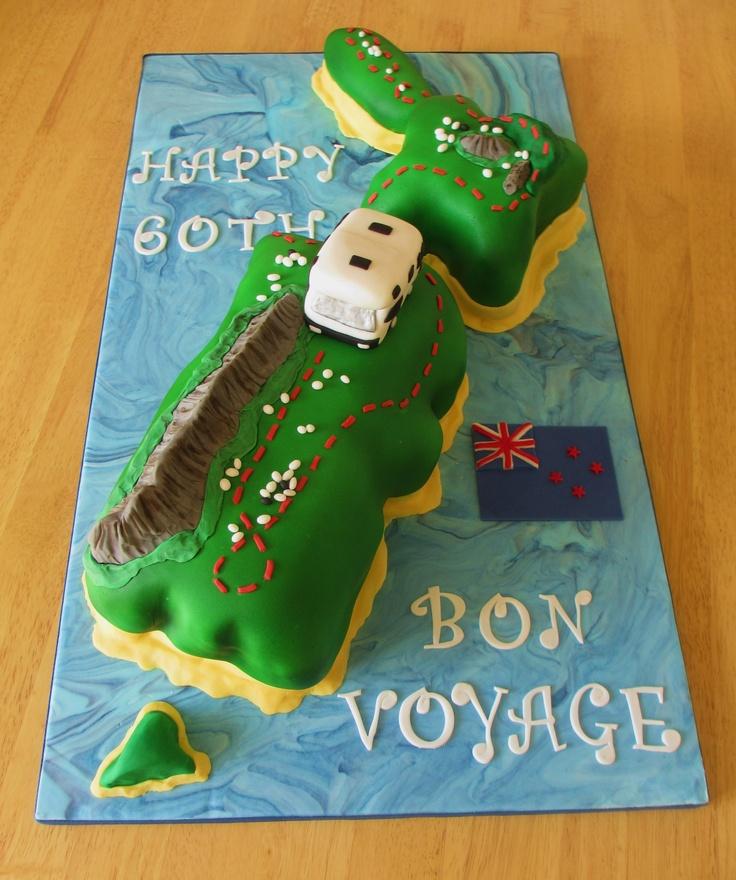 Cake Design New Zealand : 77 best ideas about Bon Voyage cake ideas on Pinterest ...