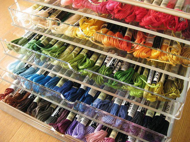 Embroidery floss storage vicmora