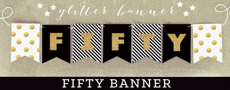 50th Anniversary Banner - 50th Wedding Anniversary Banner - Golden Anniversary 50th Banner - 50 Year Anniversary Gold Banner (EB3062) by ModParty on Etsy https://www.etsy.com/listing/207552829/50th-anniversary-banner-50th-wedding