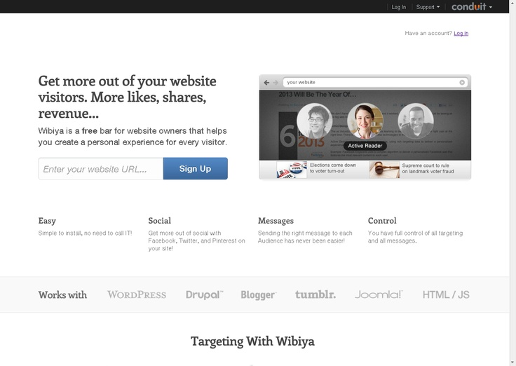 Wibiya | The all new and improved wibiya bar experience