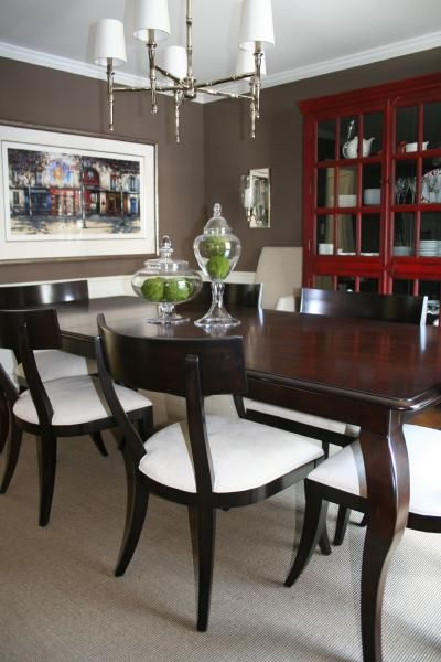 Dining Room Red Paint Ideas best 25+ brown dining room paint ideas only on pinterest | brown