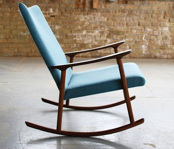 Wooden Rocking Chair For Nursery