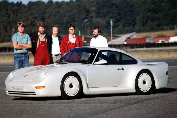 Porsche 959 Group-B Prototype