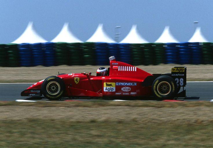 Gerhard Berger Ferrari 1995
