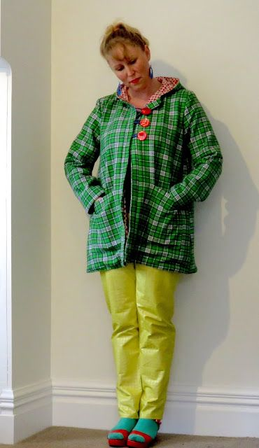 Create Hope Inspire: An Irish Pixie Pixie coat by Twig+Tale