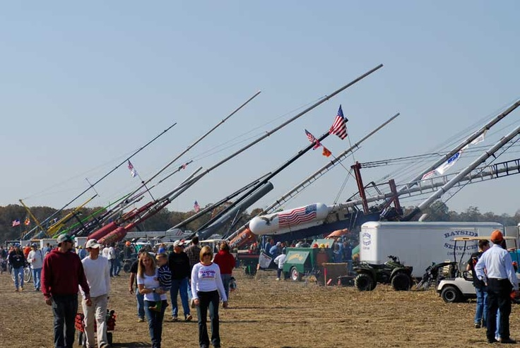 The World Chamionship Punkin Chunkin in Delaware!! A must see event