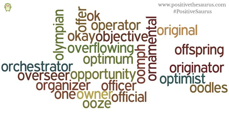Positive nouns starting with o www.positivethesaurus.com #positivenouns #positivesaurus #nouns