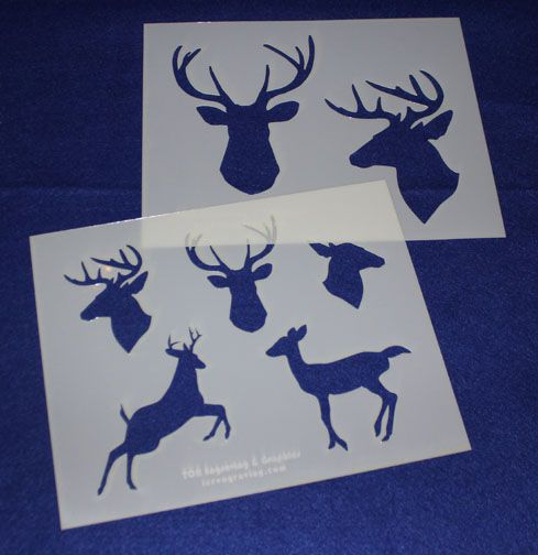 36 best images about Mylar Stencils on Pinterest Deer heads, Football and Us flags