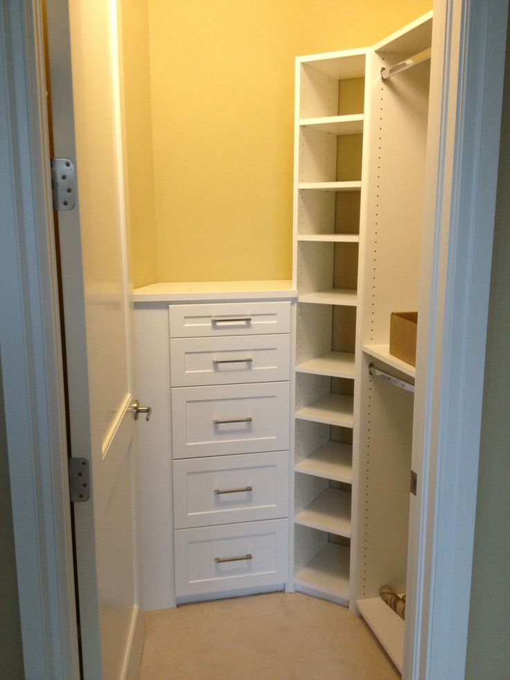 This Is A Small Closet Done Well.