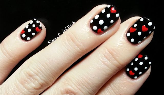 dots and hearts