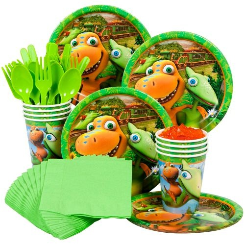 Dinosaur Train Party Standard Kit Serves 8 Guests