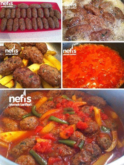 Fırında tencerede köfte nasıl pişirilir