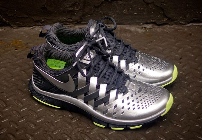 Nike Free Trainer 7.0 Black Dark Grey Silver