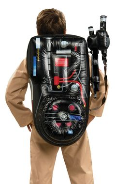 A wonderful accessory for your Ghostbuster costume! Inflatable backpack. One size fits most adults.