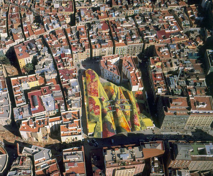 Santa Caterina Market © Ceramica Cumella. Barcelona, Catalonia.