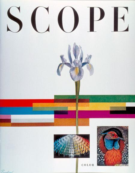 Will Burtin, Scope magazine cover 955