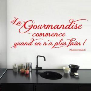 jolie phrase pour cuisine