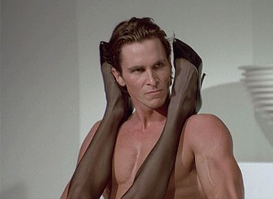 THE DOPE $OCIETY®  Follow me @ https://the-dope-society.tumblr.com | American Psycho, christian bale,