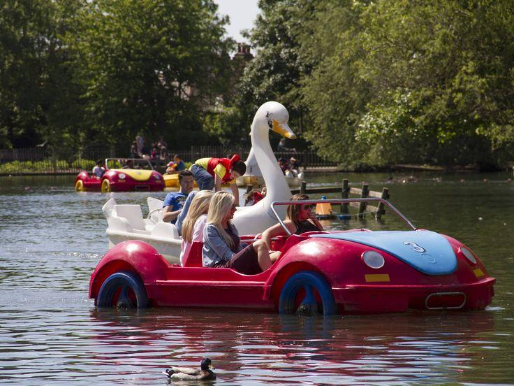 Alexandra Palace Boating Lake